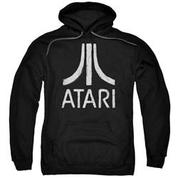 Atari - Mens Rough Logo Pullover Hoodie
