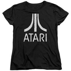 Atari - Womens Rough Logo T-Shirt