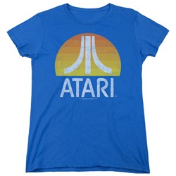 Atari - Womens Sunrise Eroded T-Shirt