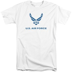 Air Force - Mens Distressed Logo Tall T-Shirt
