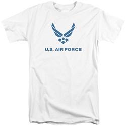 Air Force - Mens Distressed Logo Tall T-Shirt