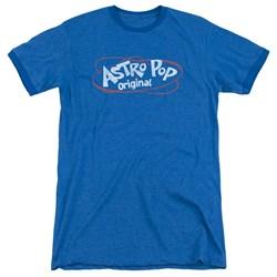 Astro Pop - Mens Vintage Logo Ringer T-Shirt