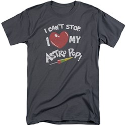 Astro Pop - Mens I Heart Tall T-Shirt