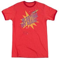 Astro Pop - Mens Blast Off Ringer T-Shirt