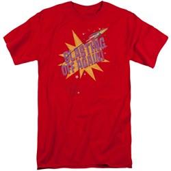 Astro Pop - Mens Blast Off Tall T-Shirt