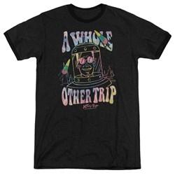 Astro Pop - Mens Space Popssdey Ringer T-Shirt