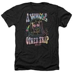 Astro Pop - Mens Space Popssdey Heather T-Shirt