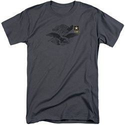 Army - Mens Left Chest Tall T-Shirt
