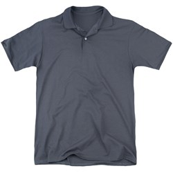 Army - Mens Left Chest (Back Print) Polo