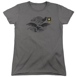 Army - Womens Left Chest T-Shirt