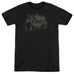 Army - Mens Soldiers Ringer T-Shirt