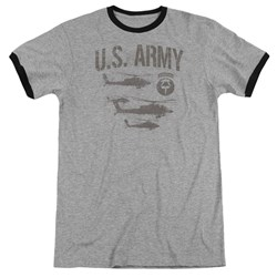Army - Mens Airborne Ringer T-Shirt