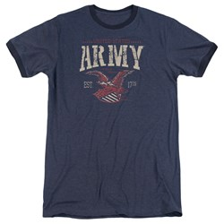 Army - Mens Arch Ringer T-Shirt