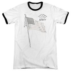 Army - Mens Tristar Ringer T-Shirt