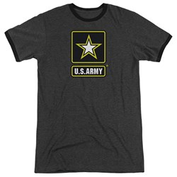 Army - Mens Logo Ringer T-Shirt