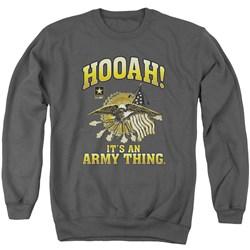 Army - Mens Hooah Sweater