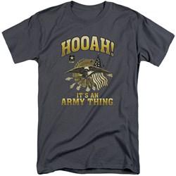Army - Mens Hooah Tall T-Shirt