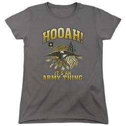 Army - Womens Hooah T-Shirt