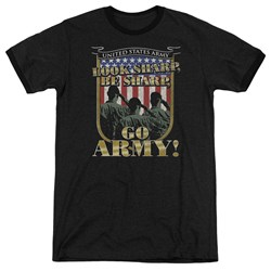 Army - Mens Go Army Ringer T-Shirt