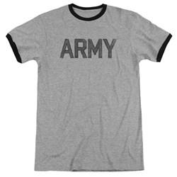 Army - Mens Star Ringer T-Shirt