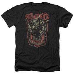 Aerosmith - Mens Let Rock Rule Heather T-Shirt