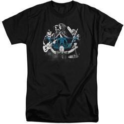 Aerosmith - Mens Rock N Round Tall T-Shirt