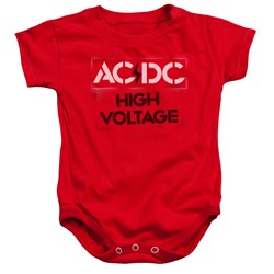 AC/DC - Toddler High Voltage Stencil Onesie