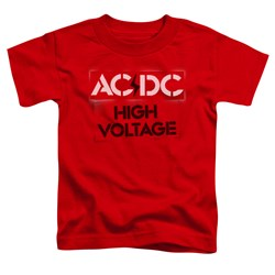 AC/DC - Toddlers High Voltage Stencil T-Shirt