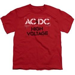 AC/DC - Big Boys High Voltage Stencil T-Shirt