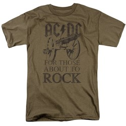 AC/DC - Mens For Those About To Rock T-Shirt