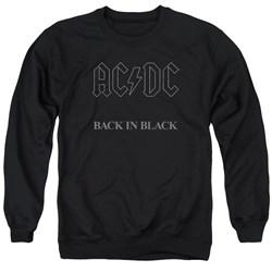 AC/DC - Mens Back In Black Sweater