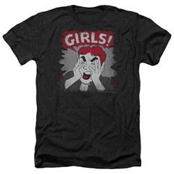 Archie Comics - Mens Girls! Heather T-Shirt