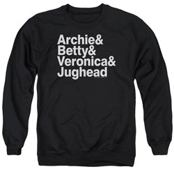 Archie Comics - Mens Ampersand List Sweater