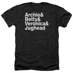 Archie Comics - Mens Ampersand List Heather T-Shirt