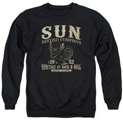 Sun Records - Mens Rockabilly Bird Sweater