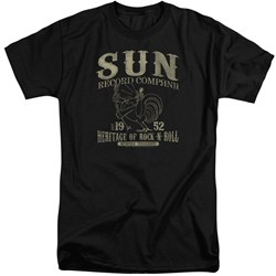 Sun Records - Mens Rockabilly Bird Tall T-Shirt