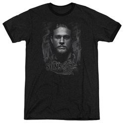 Sons Of Anarchy - Mens Jax Ringer T-Shirt