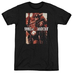 Sons Of Anarchy - Mens Code Red Ringer T-Shirt