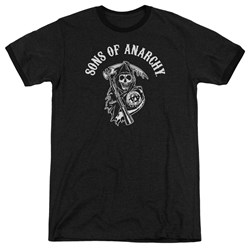 Sons Of Anarchy - Mens Soa Reaper Ringer T-Shirt