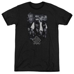 Sons Of Anarchy - Mens Ties That Bind Ringer T-Shirt