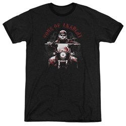 Sons Of Anarchy - Mens Ride On Ringer T-Shirt