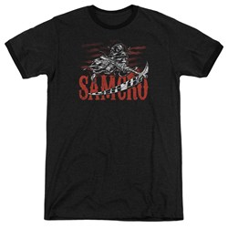 Sons Of Anarchy - Mens Acronym Ringer T-Shirt