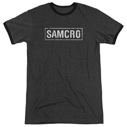 Sons Of Anarchy - Mens Samcro Ringer T-Shirt