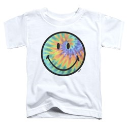 Smiley World - Toddlers Tie Dye Face T-Shirt
