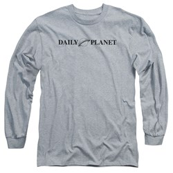 Superman - Mens Daily Planet Logo Long Sleeve T-Shirt