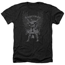 Superman - Mens Steel Heather T-Shirt