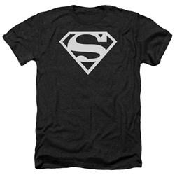 Superman - Mens Logo Heather T-Shirt