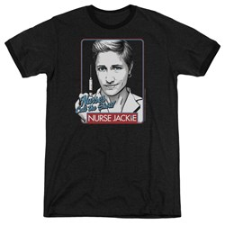 Nurse Jackie - Mens Nurses Call The Shots Ringer T-Shirt