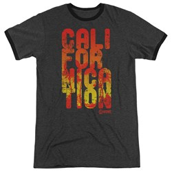 Californication - Mens Cali Type Ringer T-Shirt