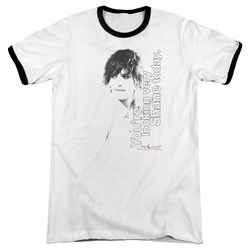 The L Word - Mens Looking Shane Today Ringer T-Shirt